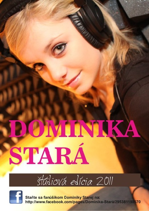 Dominika Stará cover