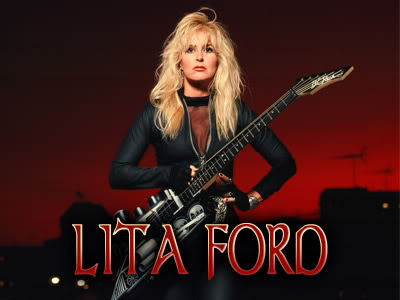 Lita Ford cover