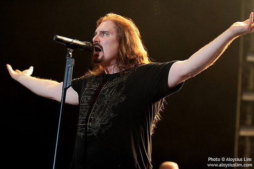 James LaBrie cover