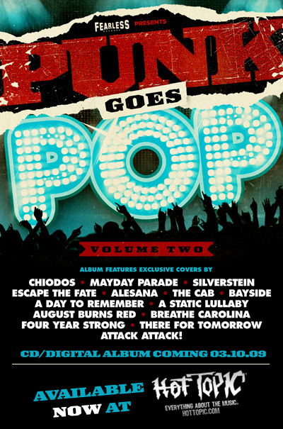 Punk Goes Pop Volume 2 cover