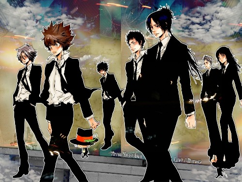 Soundtrack - Katekyo Hitman Reborn cover